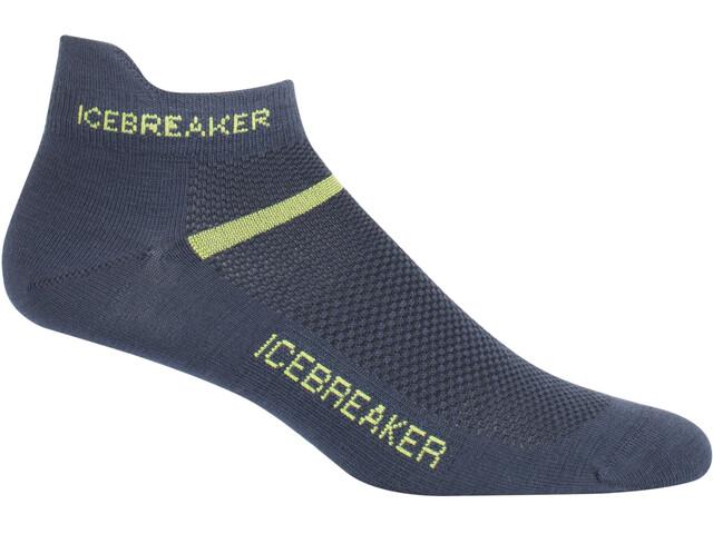 Icebreaker Multisport Ultra Light Micro Socks Herr oil/citron